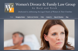 Women's divorce and family law group