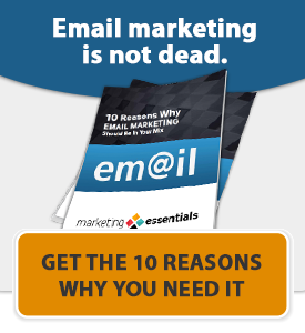 you need email marketing
