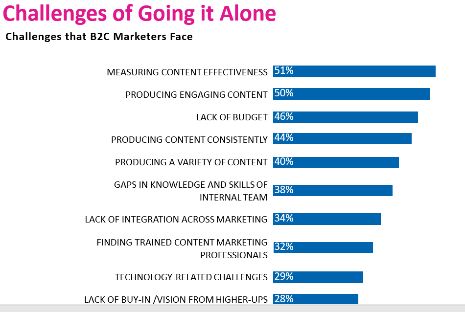 challenges of going it alone B2C