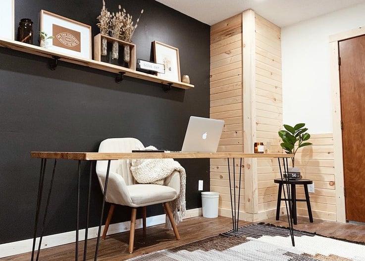 Brooke, brand and design strategist workspace