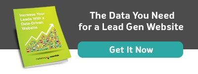 Button: Increase Your Leads With a Data-Driven Website