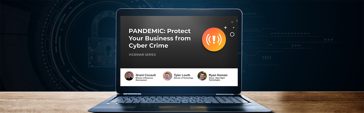 Webinar on how to protect your business from cybercrime