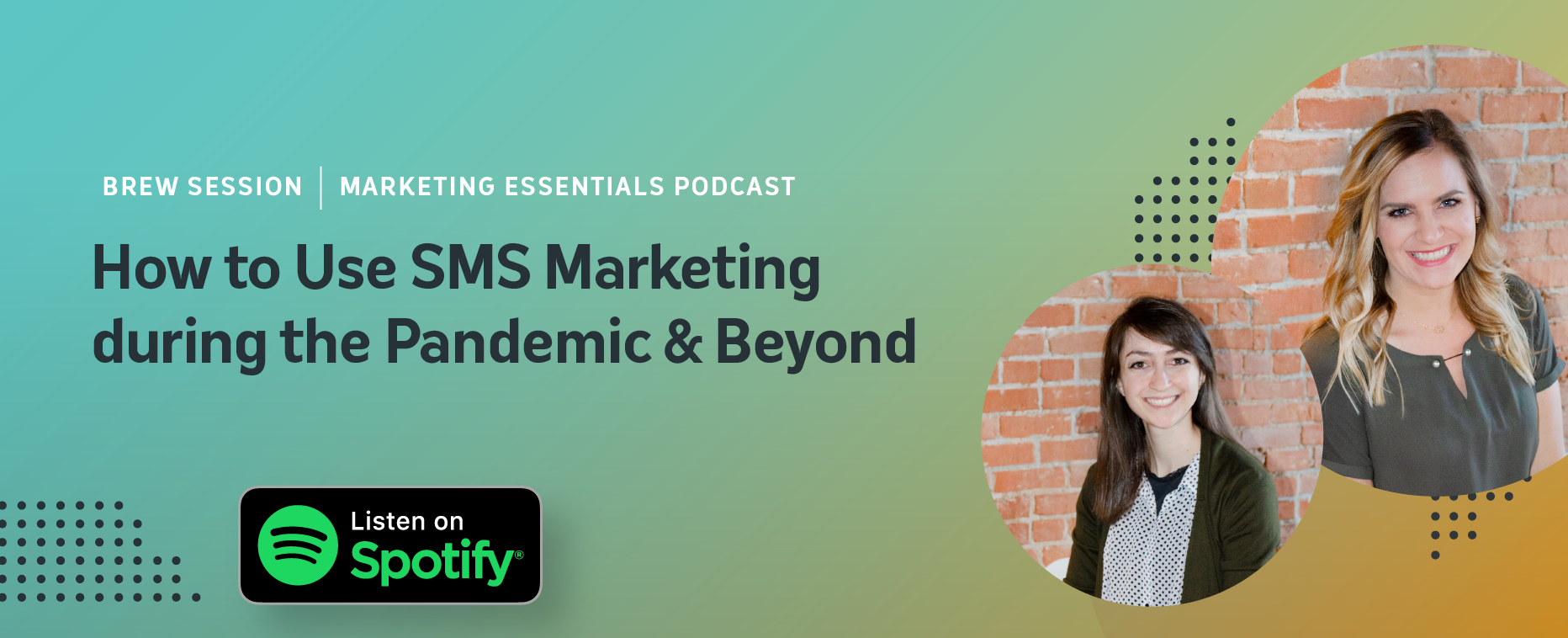 Sms marketing listen on spotify